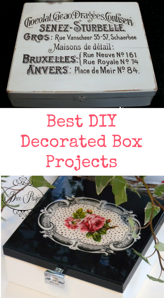 Best DIY Decorated Box Projects