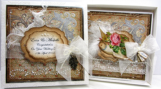 Vintage Handmade Wedding Card - Reader Featured Project