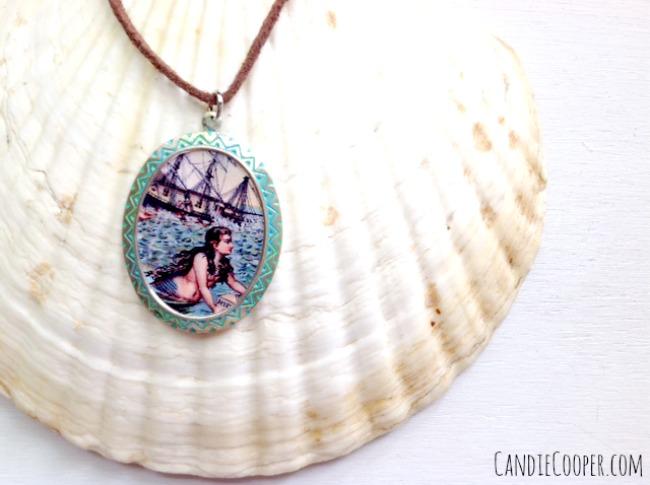 Candie Cooper Mermaid Pendant