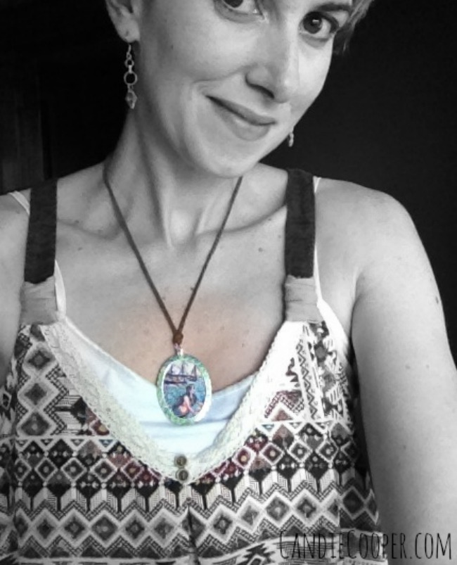 Candie Cooper with Mermaid Pendant Tutorial