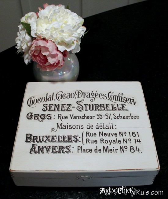 Cigar-Box-Annie-Sloan-Chalk-Paint-Artsy-Chicks-Rule