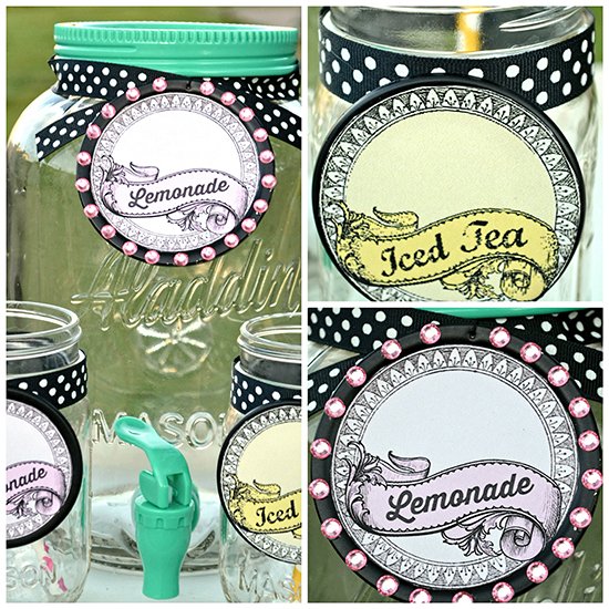 Printable Mason Jar Labels - Reader Featured Project - The