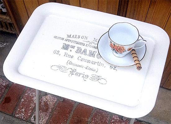 DIY Tea Tray