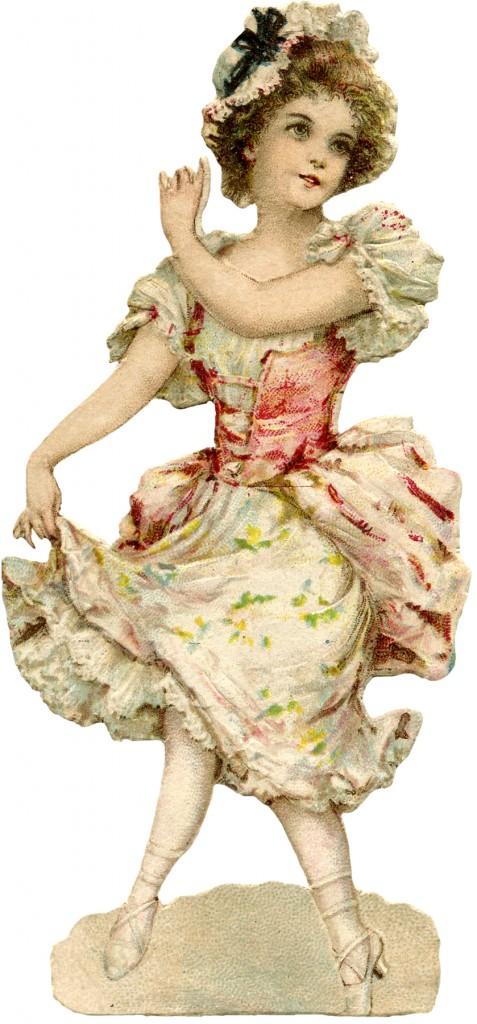 Dancing Colonial Miss Image