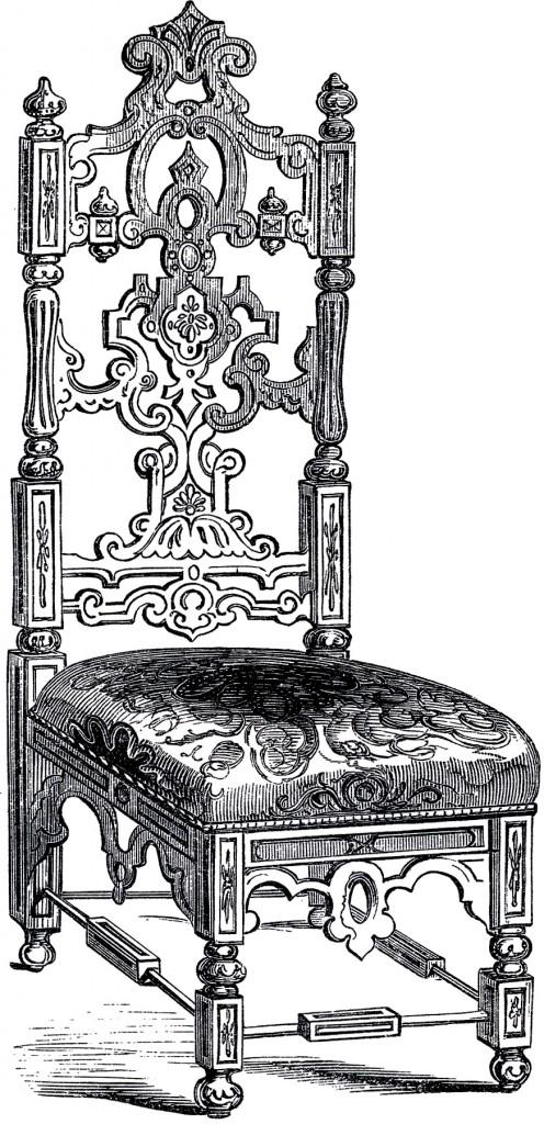 Elizabethan Chair Image