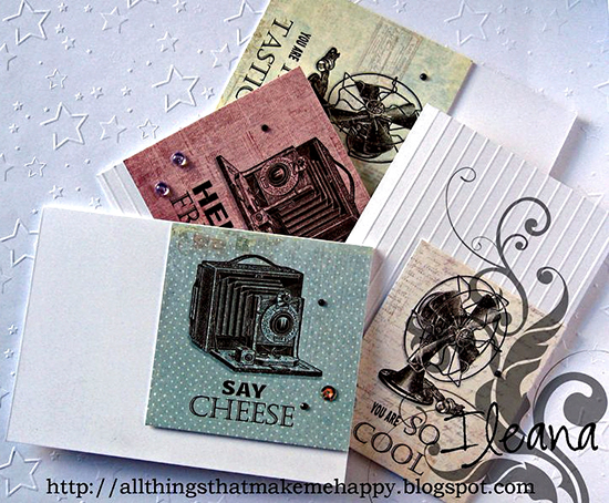 Handmade Masculine Cards