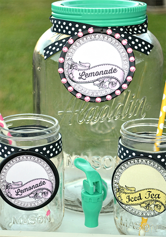 Printable Mason Jar Labels - Reader Featured Project