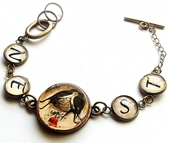Handmade Bracelets with Bird and Bee - Reader Featured Project