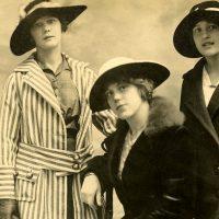 Old Photo Edwardian Girls
