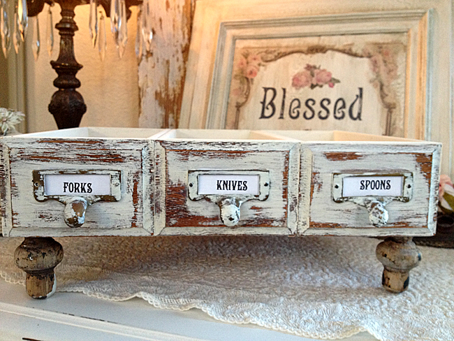 Upcycled Drawers DIY