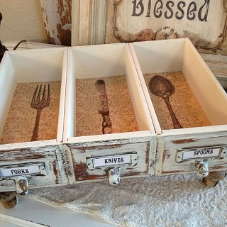 DIY Upcycled Drawers