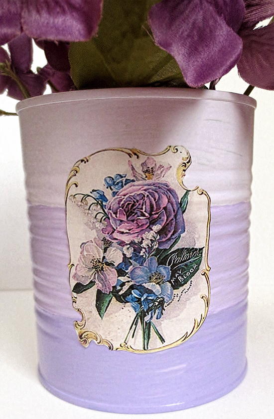 Upcycled Tin Can Craft