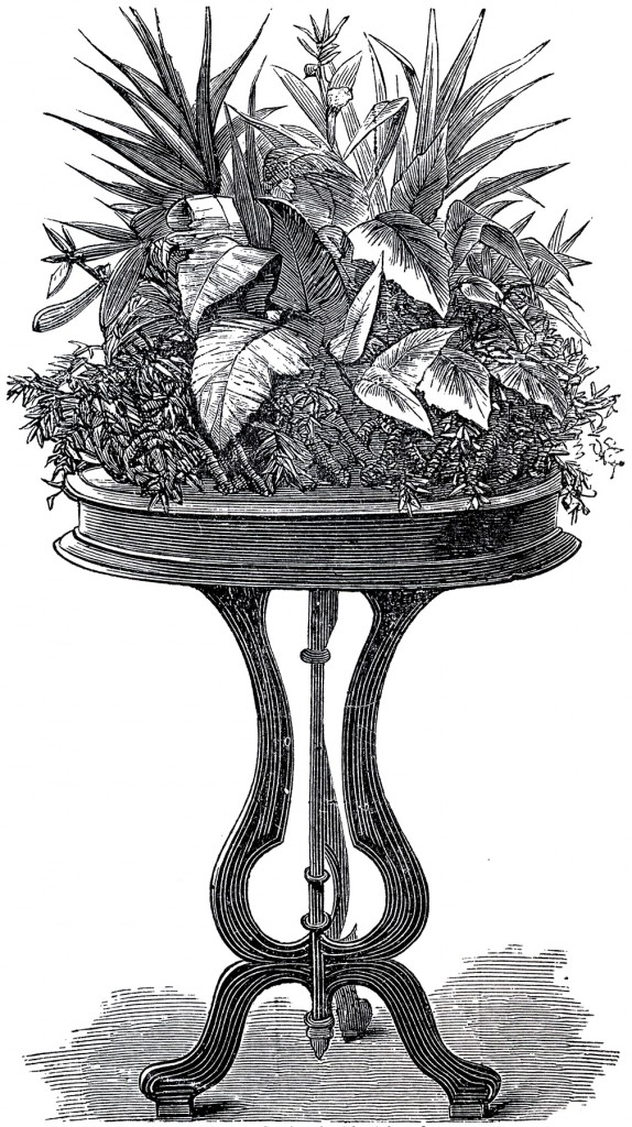 Victorian Plant Stand Image