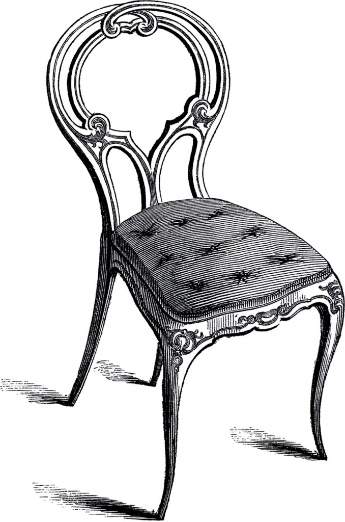 Vintage Frenchy Chair Image