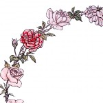 Gorgeous Vintage Roses Wreath Image!