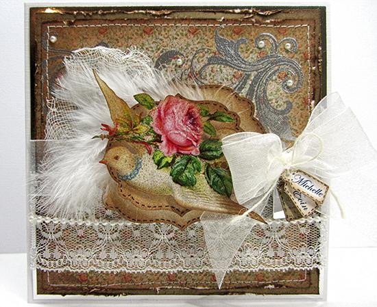 Vintage Handmade Wedding Card - Reader Featured Project
