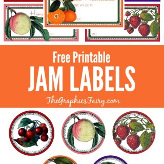 Free Printable Jam Labels