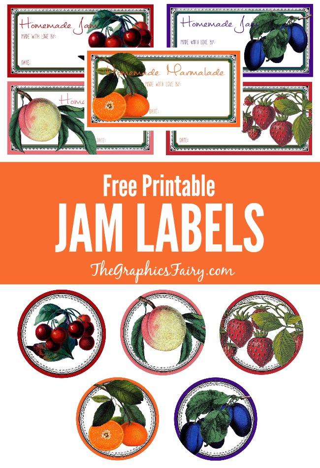 free printable jam jar labels uk