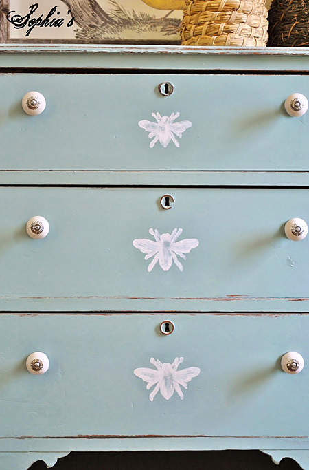 painted-Bee-Dresser-AnnieSloan-ChalkPaint