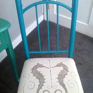 DIY Seahorse Chair