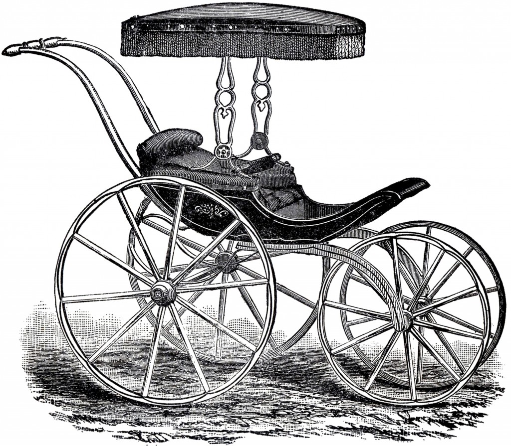 Antique Baby Carriage Picture