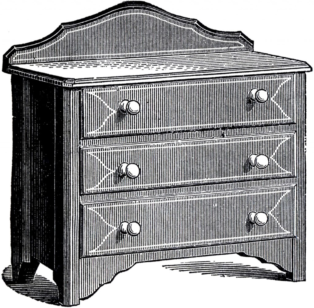 Antique Dresser Picture
