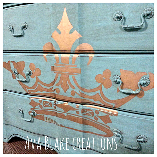Turquoise Crown Dresser - Reader Featured Project