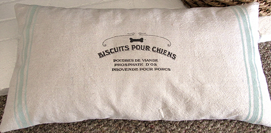 French Homemade Dog Bed - Reader Featured Project