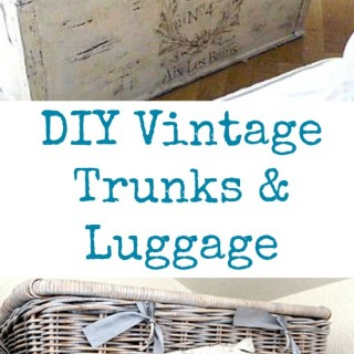 DIY Vintage Trunks and Luggage