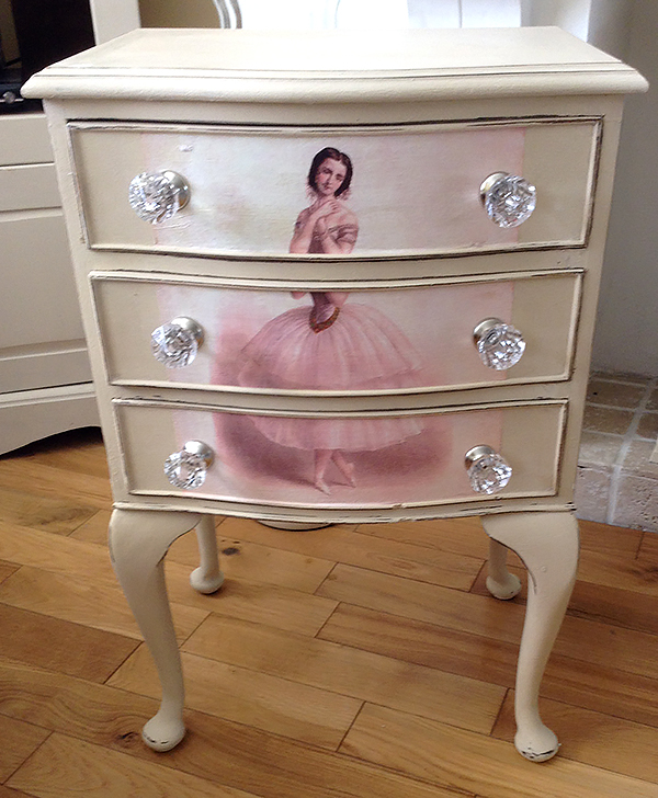 Decoupaged-Ballerina-Dresser