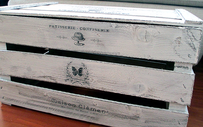 Painted French Crate - Reader Featured Project