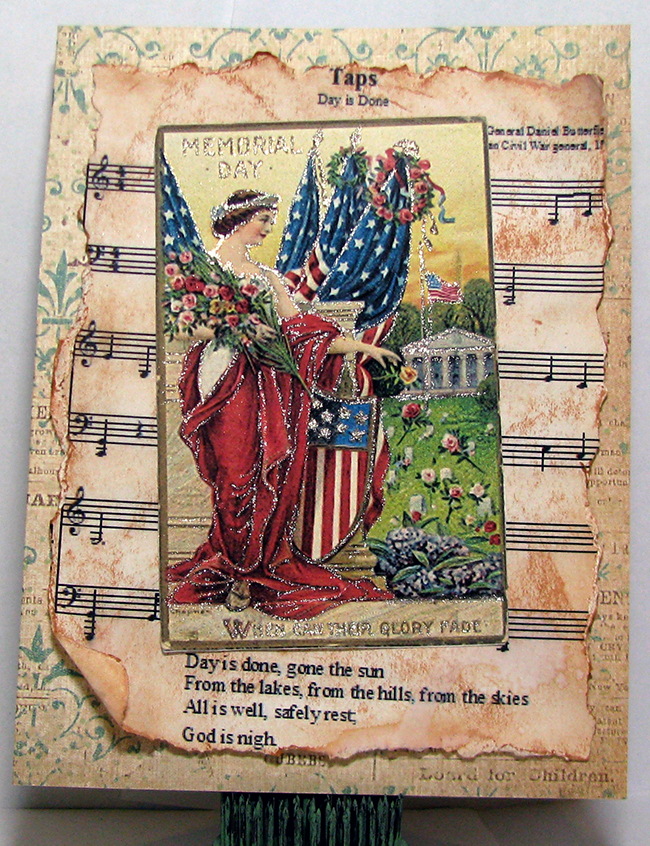 Handmade Patriotic Card - Reader Featured Project