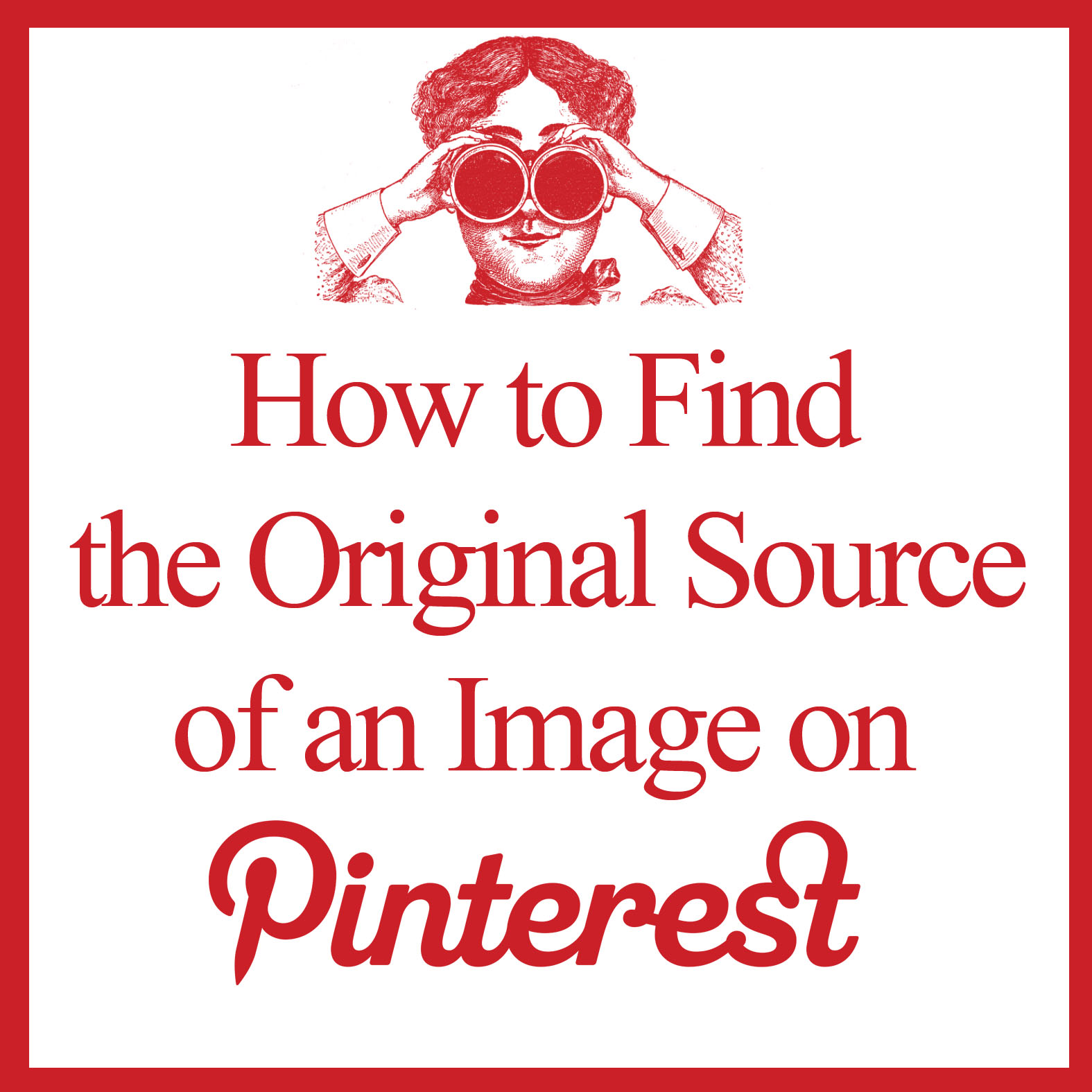 How to Find the Original Source of an Image on Pinterest! - The ...