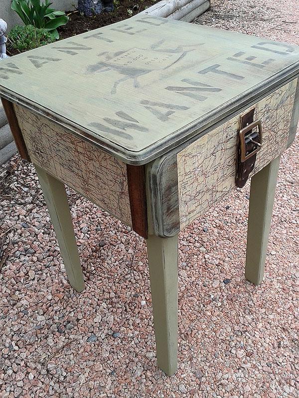 DIY Western Themed Table Tutorial