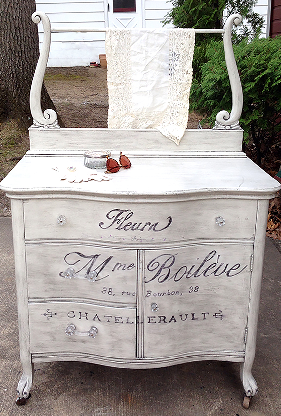 Painted French Washstand