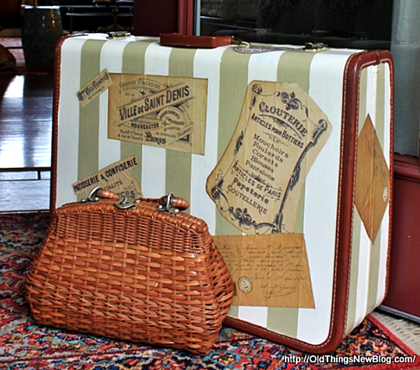 Painted-Suitcase-Vintage