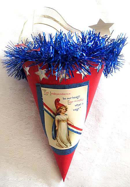 Paper-Cones-Project-4th-July
