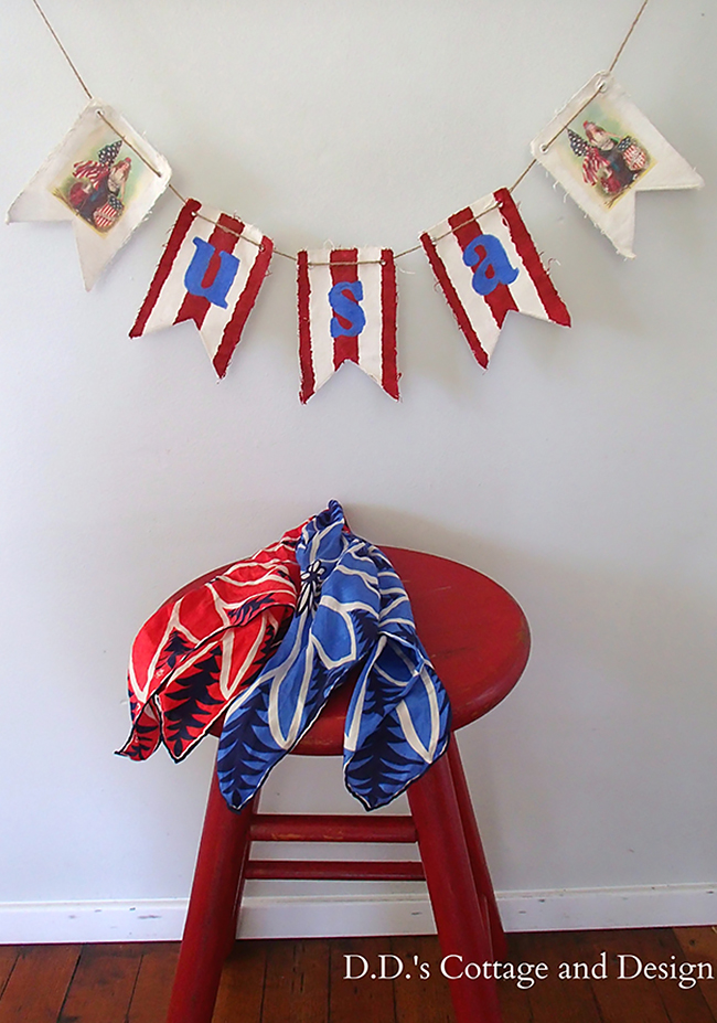 DIY Patriotic Banner - Reader Featured Project