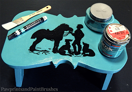 DIY Silhouette Foot Stool - Reader Featured Project