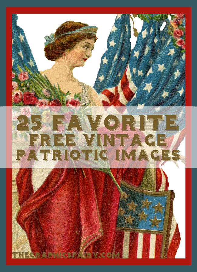 25 Favorite Free Patriotic Images // The Graphics Fairy