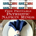 graphics fairy patriotic napkin rings