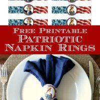 graphics fairy patriotic napkin rings