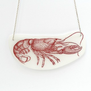 Shrinky Dink Necklace with Lobster – Reader Featured Project