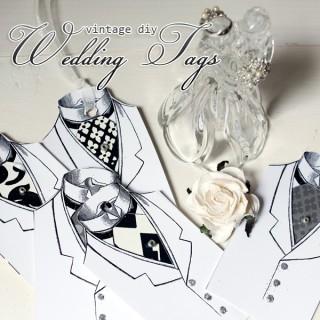 Vintage DIY Wedding Tags!