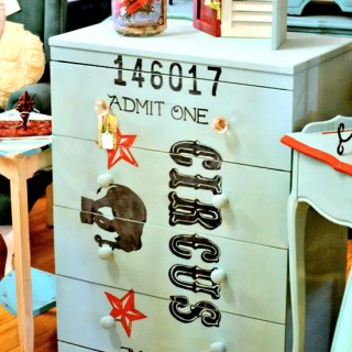 Circus Painted Dresser – Reader Featured Project