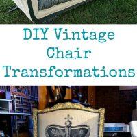 DIY Vintage Chair Transformations