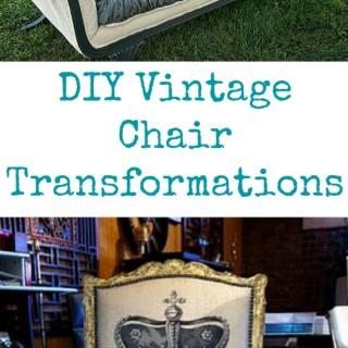 DIY Vintage Chair Transformations!