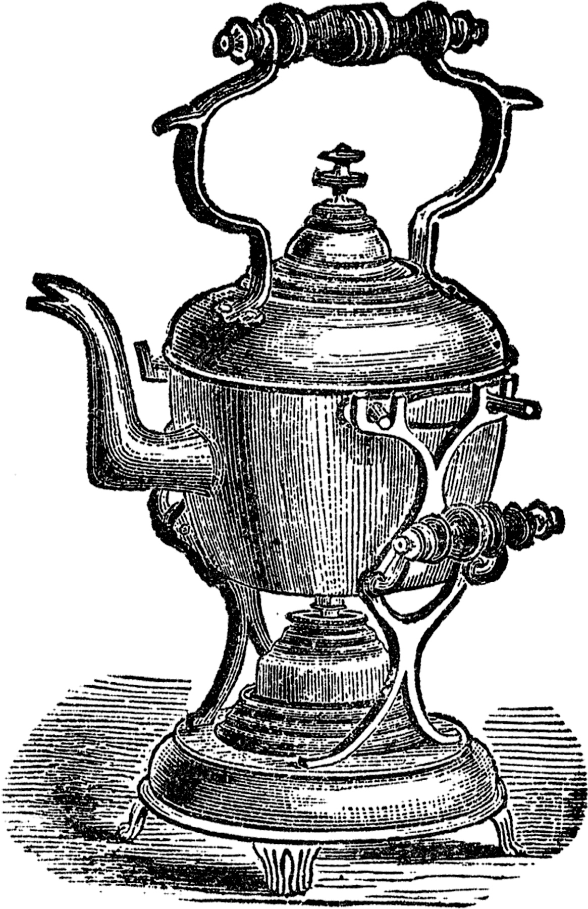 Fancy Teapot Image
