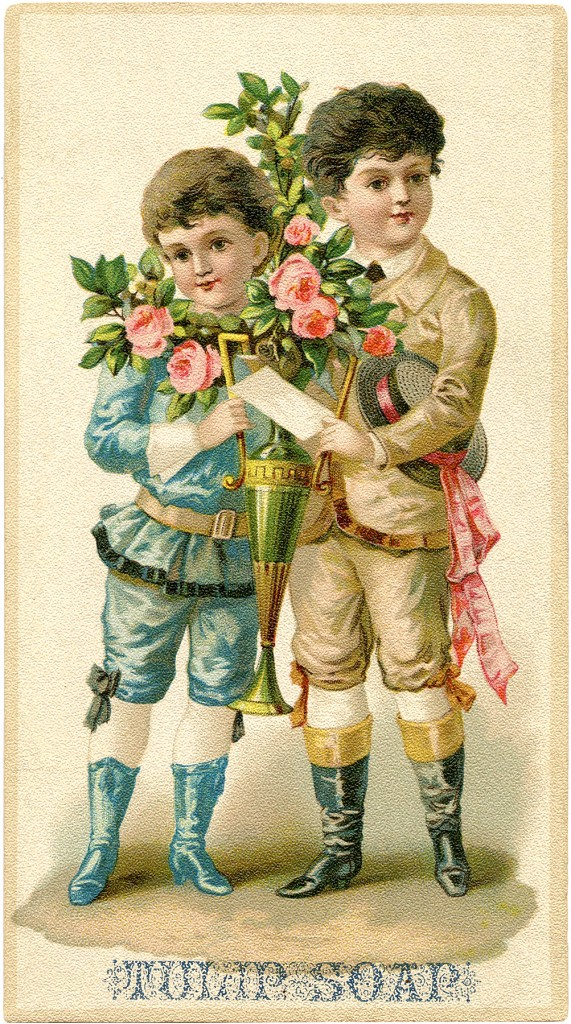 Fancy Victorian Boys Graphic