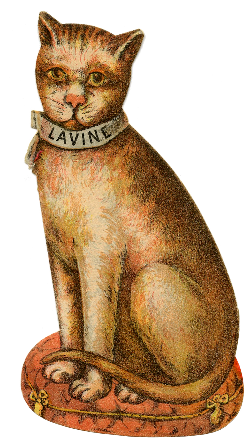 Free Vintage Cat Download - Quirky! - The Graphics Fairy